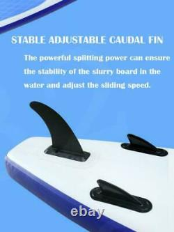 10FT 3.2M Paddle Longboard Stand Up SUP Inflatable Surfboard Pump Kayak Adult UK