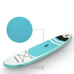 10FT Inflatable Stand Up Paddle SUP Board Surfing surf Board paddleboard Pump UK
