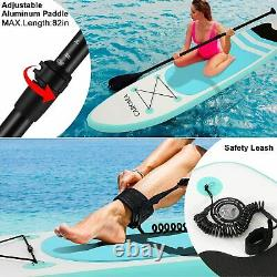 10FT Stand Up Paddle Board SUP Board Inflatable Surfing Surfboard Paddleboard UK