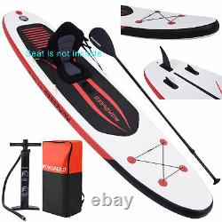 10.5Ft Inflatable Stand Up Paddle SUP Board Surfing Surfboard Paddleboard Set