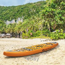 10.5/11FT Inflatable Stand Up Paddle Board SUP Surfboard Adjustable Non-Slip