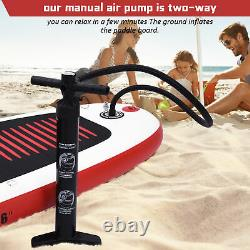 10.5' Inflatable Stand Up Paddle Board SUP Surfboard With Complete Kit 6'' Thick