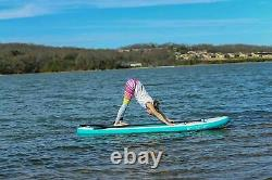10'6 Paddle Board Stand Up SUP Inflatable Paddleboard Pump Kayak Adult Beginner