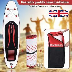 10'6' Stand up Paddle Board Inflatable SUP Surfing Board kayak Complete Package