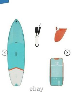 10 Ft inflatable stand up paddle board sup (2 Months Old)