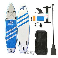 10ft 6 Stand Up Paddle Board SUP Inflatable Paddleboard Pump Surf Surfing Kayak