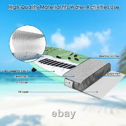 11FT Inflatable Stand Up Paddle Board SUP Surfboard Adjustable Non-Slip WithPump