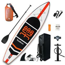 11' Inflatable Stand Up Paddle Board Surfboard SUP Paddelboard with complete kit