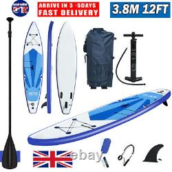 12ft Inflatable Stand Up Paddle SUP Board Surfing Surf Board Paddleboard 3.8M