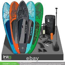 A+ Makani 10.5 FT Inflatable Stand Up Paddle Surf Board Kayak Incl Accessories