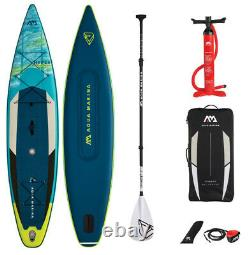 Aqua Marina Hyper 12'6 Inflatable Stand up Paddle Board & Lightweight FG Paddle