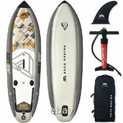 Aqua Marina Inflatable Drift SUP ISUP Stand Up Paddle Board Surf Angeln SET NEU
