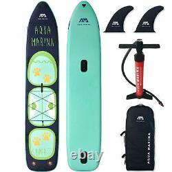 Aqua Marina Inflatable Super Trip Tandem SUP Stand Up Paddle Board ISUP Surf SET