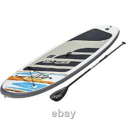 Bestway Hydro Force White Cap 10 ft Inflatable Stand Up Paddle Board SUP Surfing