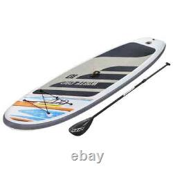 Bestway Hydro-Force White Cap Set Inflatable SUP Stand Up Paddle Board Outdoor