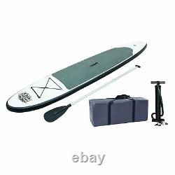 Bestway Inflatable Hydro-Force Wave Edge 10 Foot Stand Up Paddle Board, White