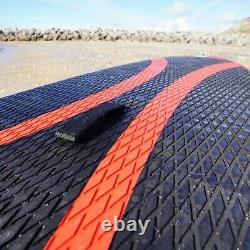 Conwy Kayak Inflatable Red SUP Stand Up Paddle Board 9'5 / 10'6 Paddle Pump