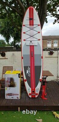 Crane Inflatable Stand-Up Paddle Board with witj seat, Pump & Travel Ba