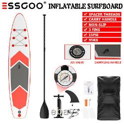 ESSGOO 320CM Stand up Paddle Board Inflatable SUP Complete Package New 10'6' New