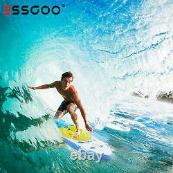 ESSGOO 320cm Surfboard SUP Paddle Inflatable Board Stand Up Paddleboard