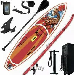 FunWater 116 Long 34 Wide 6 Thick Inflatable Stand Up Paddle Board Sup Board