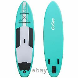 GoSea SUP 10ft Inflatable Stand Up Paddle Board + Pump + Paddle Bag 6 Exercise