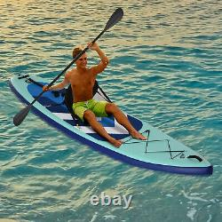 HOMCOM Inflatable Stand Up Paddle Board Kayak Conversion Kit for Adults Kids