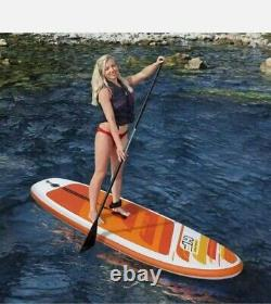 Hydro-Force 9ft 100kg 12cm AquaJourney Set Inflatable SUP Stand Up Paddle Board