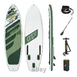 Hydro-Force Bestway Kahawai SUP Set Inflatable Stand Up Paddle Board, 10ft 2