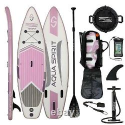 ISUP Inflatable Stand up Paddle Board Accessories Tempo Purple Water Sports