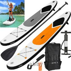 Inflatable 10.5FT Stand Up Paddle Board Surf SUP with Pump Carry Bag Strap/Seat