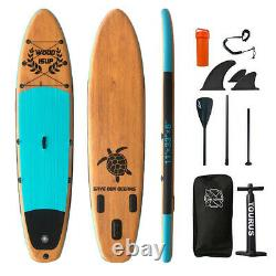 Inflatable Paddle Board SUP Stand Up Paddleboard & Accessories Set Surfboards