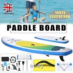 Inflatable Paddle Board SUP Stand Up Paddleboard &Accessories Surfing Racing Set