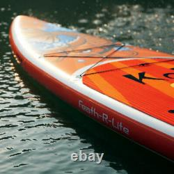 Inflatable Stand Up Paddle Board11' with Adjustable Paddle, with complete kit