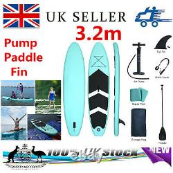 Inflatable Stand Up Paddle Board Paddleboard Surfboard SUP Kayak+Pump Paddle Set