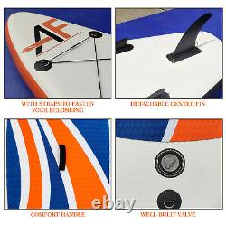 Inflatable Stand Up Paddle Board SUP Paddleboard Surfing Paddling Kayak Pump 10