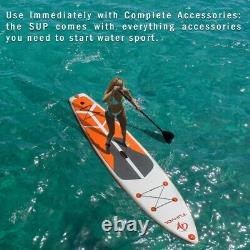 JOYHUT 11FT Inflatable Stand Up Paddle SUP Board Surfing surf Board paddleboard