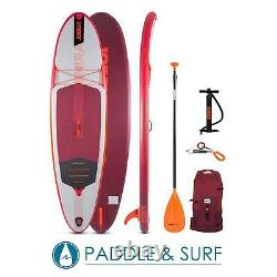 Jobe Mira SUP Board 10.0 Inflatable iSUP Stand Up Paddle Board Package