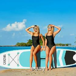 NEW 10FT Inflatable Stand Up Paddle SUP Board Surfing Surf Board Paddleboard UK