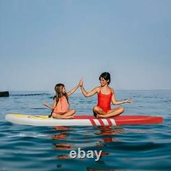 New 10'6x32x6 Stand Up Paddle Board Inflatable Surfboards SUP Complete Set Red