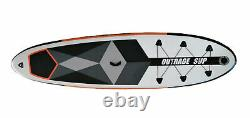 Outrage Allround SUP Inflatable Stand Up Paddle Board 10FT Surf ISUP Kit