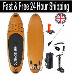 Outrage Cascade Deluxe SUP 10' 6 Double Layer Inflatable Stand Up Paddle Board