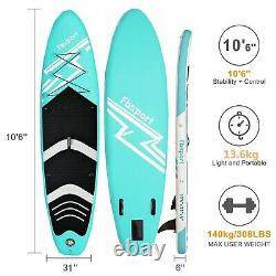 Paddle Board Inflatable SUP Paddleboard Stand Up Surfboard 10.6ft Complete Set