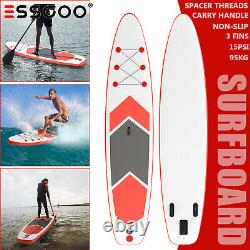 Paddle Board SUP 10'6' Inflatable Sports Surf Stand Up Racing Bag Pump Oar Water
