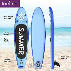Paddle Board SUP 300cm Inflatable Sports Surf Stand Up Racing Bag Pump Oar Water