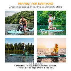 SUP Board Inflatable 3.2M Stand Up Paddle Board Green10.6ft with Complete Set