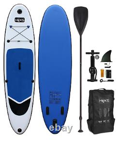 SUP Board Inflatable 3.2m HIKS 10ft6 Navy Stand Up Paddle Board Set