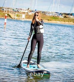 SUP Board Inflatable 3m Stand Up Paddle Board Blue 10ft Complete Set