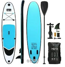 SUP Board Inflatable Ex-Display 3m Stand Up Paddle Board Blue 10ft Complete Set