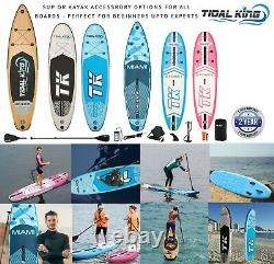 SUP Inflatable Stand Up Paddle Board Kayak Seat Premium 10'/10'6 & Accessories